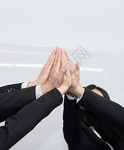 团队合作士气鼓励图片