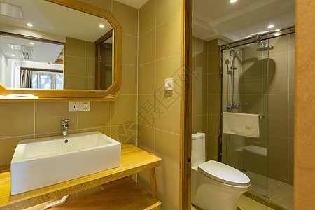 民宿浴室图片
