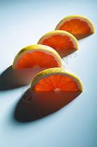 鲜橙切片图片