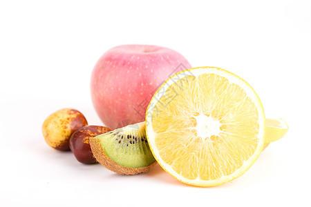 混合水果背景图片