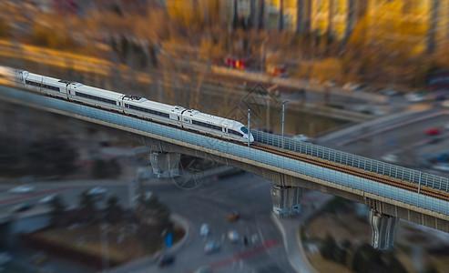 城市移轴高铁图片