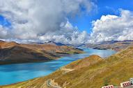 美丽壮观的西藏羊卓雍错湖图片