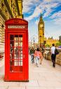 伦敦电话亭图片