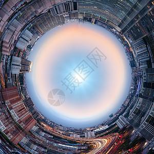 都市环形图片