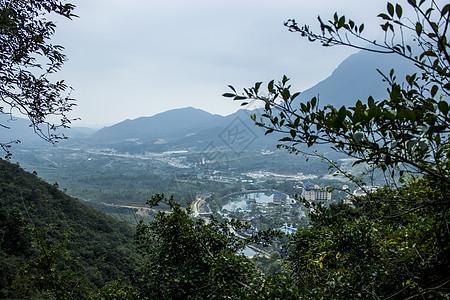 莲花山度假山庄景色图片