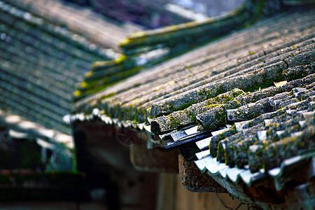 潮汕民居的屋檐图片