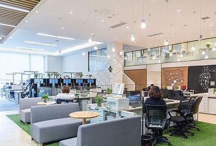 一站式开放式办公空间休闲图片