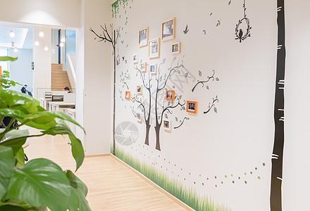 照片墙办公室休闲区域图片