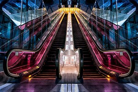 最美扶梯图片