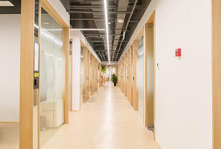 互联网办公空间走廊图片