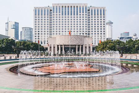上海市政府人民广场图片