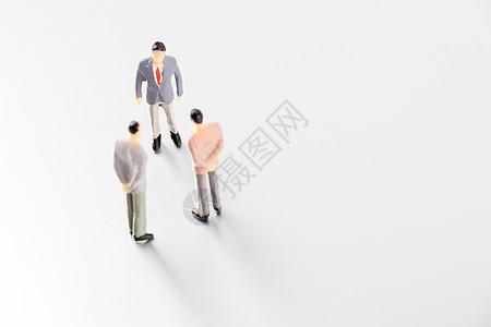 对手竞争商务谈判图片
