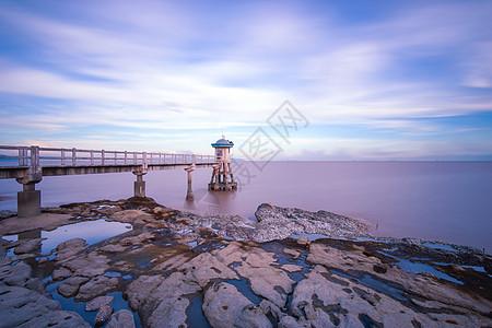 亚婆湾桥栈图片