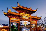 南京 秦淮河畔图片