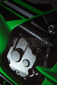 摩托机车的金属质感图片