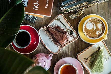 闲暇时光的下午茶图片
