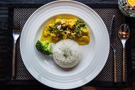 咖喱饭图片