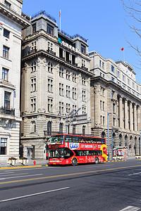 上海旅游观光巴士图片