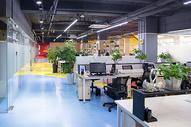 创业空间办公区域图片