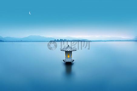 醉美西湖,水墨丹青。图片