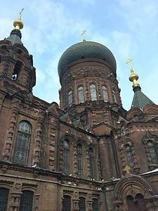 圣索菲亚教堂图片