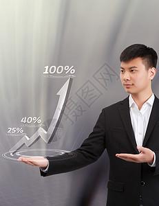 商务目标金融人像图片