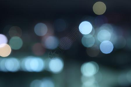 城市夜景下的梦幻图片