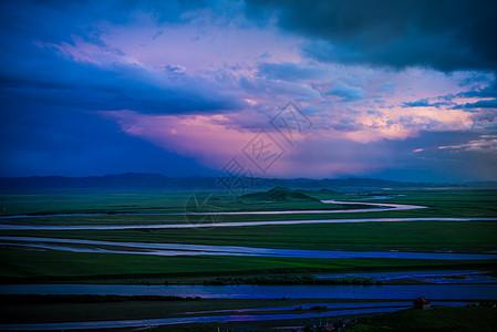 黄河九曲第一弯图片