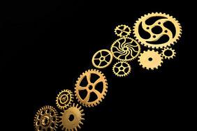 金属齿轮组合图片