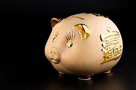 金猪储蓄罐图片