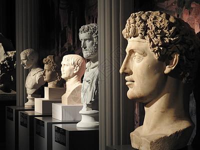 罗马时期雕塑展览图片