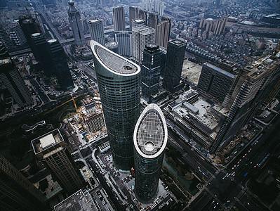 繁华都市高楼图片