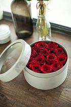 玫瑰花永生花婚庆礼盒图片