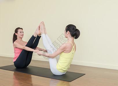 室内瑜伽动作指导图片