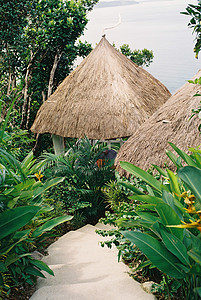 热带岛屿风格酒店图片