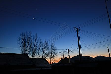 故乡的夜晚图片