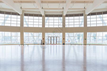 城市建筑体育场篮球馆图片