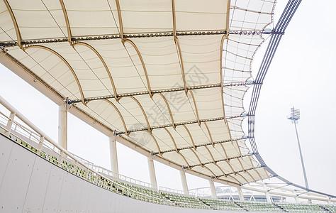 城市建筑阴天体育场看台图片