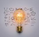 创意的灯泡背景图片