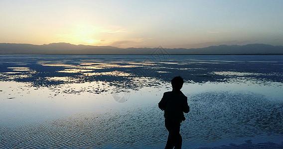 茶卡盐湖旅拍图片