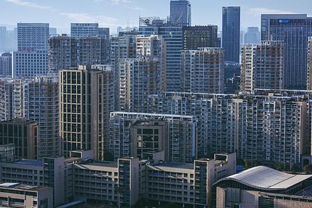 城市的高楼大厦  繁华商业区建筑图片