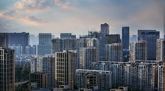 城市的高楼大厦  商业区图片