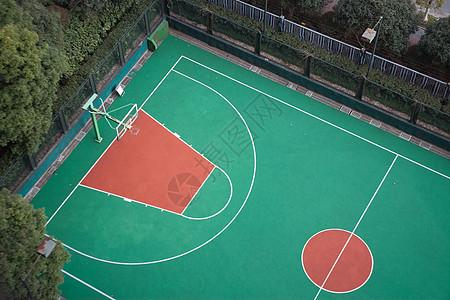 运动 篮球场 微缩景观图片