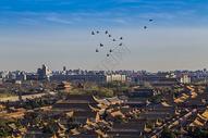 南边京城的故宫图片