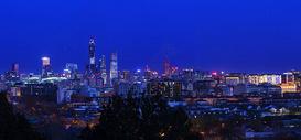 东边CBD的夜景京城图片