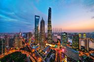上海城市高楼大厦图片