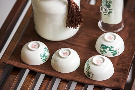 茶具摆件图片