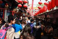 小吃街 北京 胡同图片