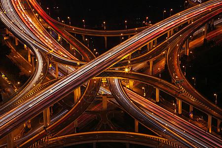 上海高架桥 城市动脉图片