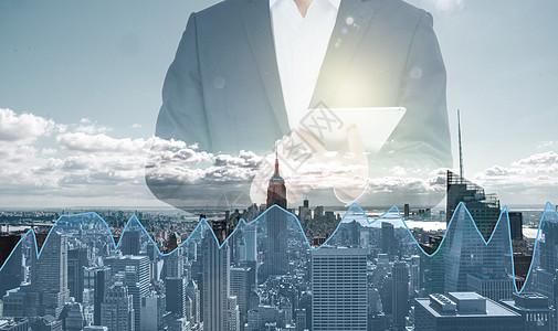 都市  成功男士  商务金融  股票行情  平板电脑图片